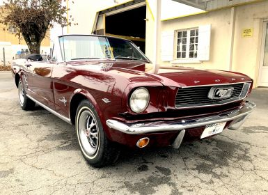 Vente Ford Mustang CABRIOLET V8 260CI 1964/5 Occasion
