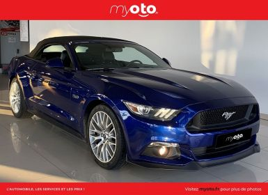 Vente Ford Mustang CONVERTIBLE 5.0 V8 421CH GT BVA6 Occasion