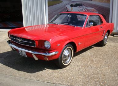 Vente Ford Mustang coupe 1965 Occasion