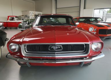 Vente Ford Mustang Coupé 1968 Occasion