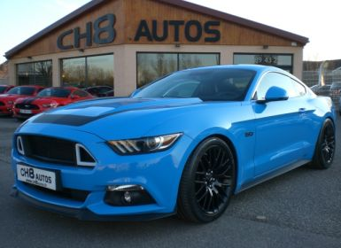 Achat Ford Mustang fastback 5.0 v8 grabber blue 21500kms pack premium Occasion