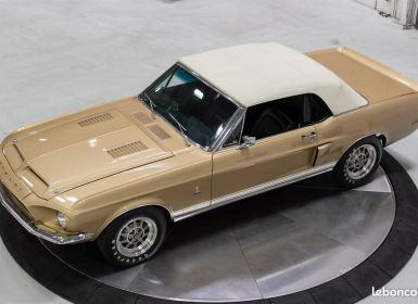 Vente Ford Mustang SHELBY GT350 Cabriolet 1968 - V8 302Ci - Boite Manuelle Occasion