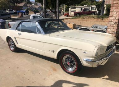 Vente Ford Mustang V8 289 Ci CABRIOLET 1965 Occasion