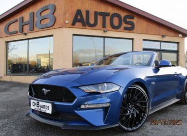 Vente Ford Mustang v8 5.0 gt cabriolet boite auto jantes 21″ 22890kms sync 3 apple carplay Occasion