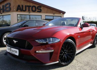 Vente Ford Mustang V8 5.0 Gt Cabriolet Boite Automatique 15195kms Systeme Audio Bang&olufsen Occasion