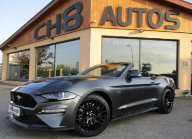 Vente Ford Mustang v8 5.0 gt cabriolet boite automatique phase 2 450ch 6890kms Occasion