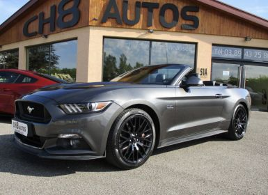 Achat Ford Mustang v8 5.0 gt cabriolet jantes noir boite auto 12620kms Occasion