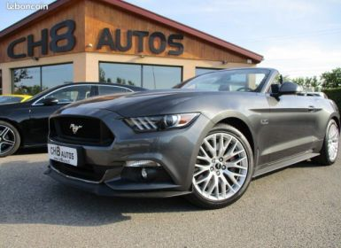 Ford Mustang V8 5.0 GT Cabriolet Pack premium Boite auto 10980kms