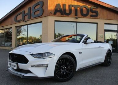 Vente Ford Mustang V8 5.0 GT CABRIOLET pack premium phase 2 450ch cabriolet 12900kms 2018 Occasion
