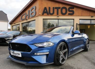 Vente Ford Mustang V8 5.0 GT CABRIOLET pack premium phase 2 450ch cabriolet 2018 JANTES 20″ Occasion