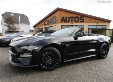 Vente Ford Mustang V8 5.0 GT CABRIOLET pack premium phase 2 450ch cabriolet 4615kms NOIR Occasion