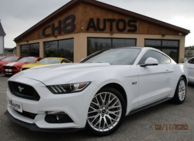 Vente Ford Mustang v8 5.0 gt fastback blanche toit noir boite auto pack premium Occasion