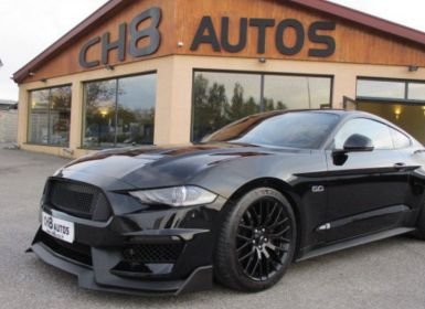 Vente Ford Mustang v8 5.0 gt fastback pack gt 350 systeme audio b&o noir magnifique a voir Occasion