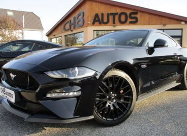 Vente Ford Mustang v8 5.0 gt fastback pack premium 980kms noir systeme audio bang et olufsen Occasion