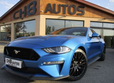 Vente Ford Mustang v8 5.0 gt fastback phase 2 450ch boite auto bleu velocity 17412kms Occasion