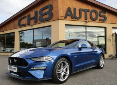 Vente Ford Mustang V8 5.0 GT FASTBACK PHASE 2 BOITE AUTO 450CH 10900kms 1ere MAIN Occasion