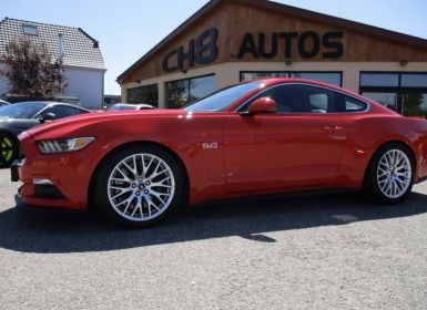 Vente Ford Mustang v8 5.0 gt fastback rouge 4615kms pack premium navi sync 3 Occasion