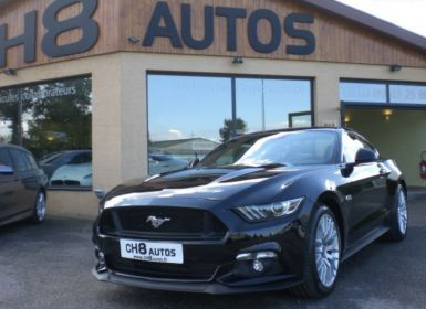 Vente Ford Mustang v8 5.0 gt fastback sync 3 noir 10500kms 1ere main pack premium Occasion