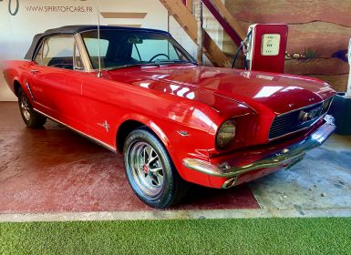 Vente Ford Mustang V8 CABRIOLET 289 CI CODE A 1965 Occasion