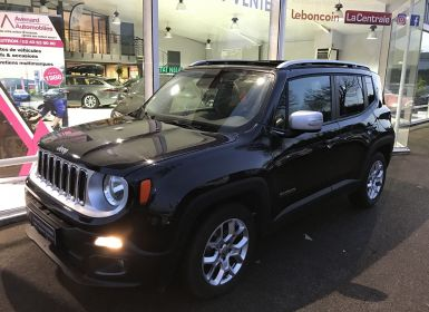 Achat Jeep Renegade 1.6 MULTIJET S&S 120CH LIMITED Occasion