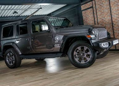 Voiture Jeep WRANGLER 2.0 T 272CH UNLIMITED OVERLAND COMMAND-TRAC BVA8 Occasion