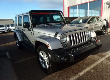Achat Jeep Wrangler 2.8 CRD 200 FAP UNLIMITED SAHARA Occasion