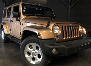 Vente Jeep WRANGLER 2.8 CRD 200 SAHARA 1RE MAIN Occasion