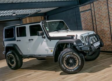 Voiture Jeep WRANGLER 2.8 CRD200 FAP UNLIMITED RUBICON Occasion