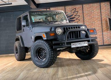 Vente Jeep WRANGLER 4.0 SAHARA Occasion