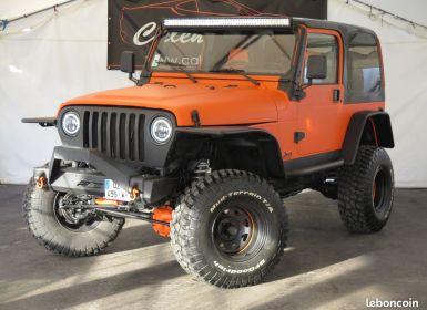 Vente Jeep Wrangler 4.0 sahara neuf Occasion