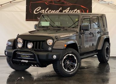 Achat Jeep Wrangler iii unlimited 2.8 crd 200 sahara Occasion