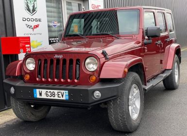 Vente Jeep WRANGLER SAHARA 2,8 CRD AUTO Occasion