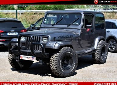 Achat Jeep Wrangler YJ 2.5 Occasion