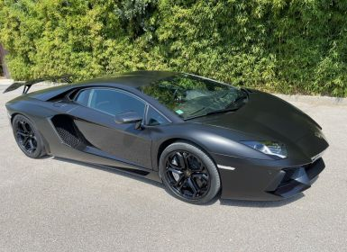 Vente Lamborghini Aventador LP 700-4 Coupé Nero Pegaso * pas de malus * en stock  Occasion