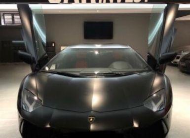 Achat Lamborghini Aventador LP 700-4 NERO Occasion
