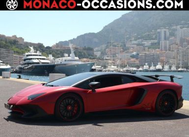 Acheter Lamborghini Aventador LP 740-4 SV Occasion