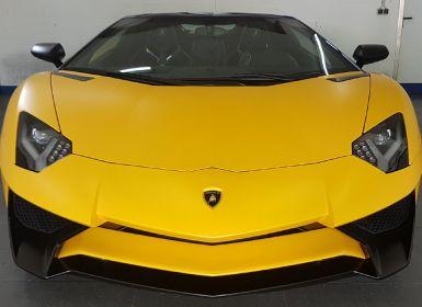 Vente Lamborghini Aventador SV ROADSTER lp-750 Occasion