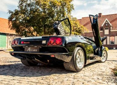 Vente Lamborghini Diablo 5.7 - V12 - FULL HISTORY - MANUAL - RADIO Occasion