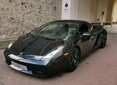 Vente Lamborghini Gallardo LAMBORGHINI GALLARDO SPYDER 5.0 V10 520 Occasion