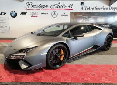 Vente Lamborghini Huracan Performante LP 640-4 1ere Main Française LOA : 2 527,78 / mois 5.2 V10 640 Ch / TVA Occasion