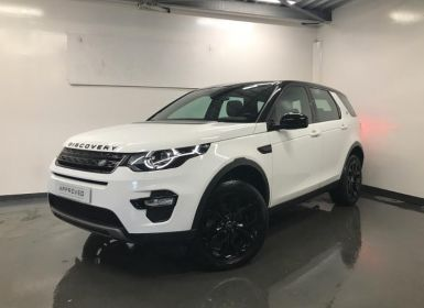 Voiture Land Rover Discovery Sport 2.0 TD4 150ch AWD SE BVA Mark II Occasion