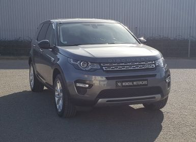 Vente Land Rover Discovery Sport 2.0 TD4 180 HSE 4WD AUTO Occasion