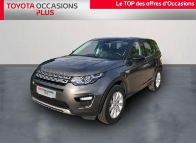 Vente Land Rover Discovery Sport 2.0 TD4 180ch AWD HSE Luxury BVA Mark I Occasion