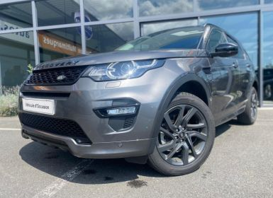 Vente Land Rover Discovery Sport 2.0 TD4 180CH HSE AWD BVA MARK III Occasion