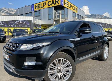Vente Land Rover Range Rover Evoque 2.2 SD4 PRESTIGE Occasion