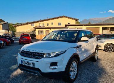 Land Rover Range Rover Evoque 2.2 td4 150 pure pack tech bva 04/2014 GPS XENON LED CUIR