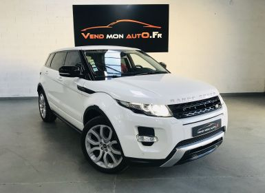 Achat Land Rover Range Rover Evoque – TD4 Dynamic Occasion