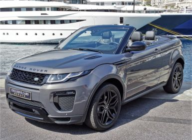 Vente Land Rover Range Rover Evoque CABRIOLET 2.0 TD4 HSE DYNAMIC 180 CV BLACK LINE Leasing