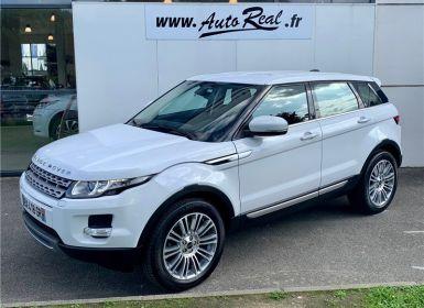 Vente Land Rover Range Rover Evoque SD4 Prestige A Occasion