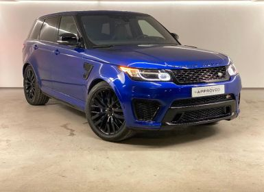 Achat Land Rover Range Rover Sport 5.0 V8 Supercharged 550ch SVR Mark V Occasion